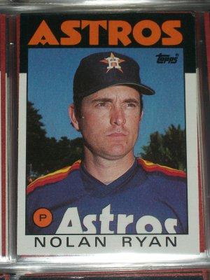 Nolan Ryan 1986 Topps Baseball Card