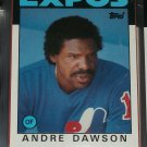 Andre Dawson 1986 Topps Baseball Card