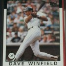 Dave Winfield 1986 Topps Baseball cards