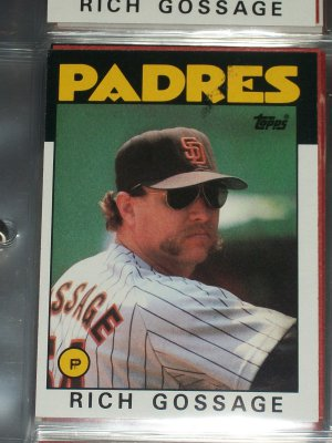 "Rich ""Goose"" Gossage 1986 Topps Baseball Card"