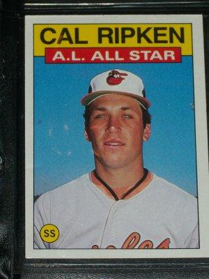 Cal Ripken 1986 Al All Star Baseball Card