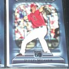 Jered Weaver 2011 Topps 60-Angels Single Season Strikeout Leaders Baseball Card