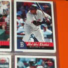 2007 Fleer RED SOX CHECKLIST- David Ortiz Baseball Card