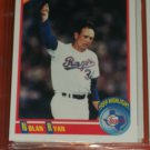 "Nolan Ryan 1990 Score ""1989 Highlights"" Baseball Card"
