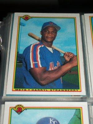 Darryl Strawberry 1990 Bowman Baseball Card