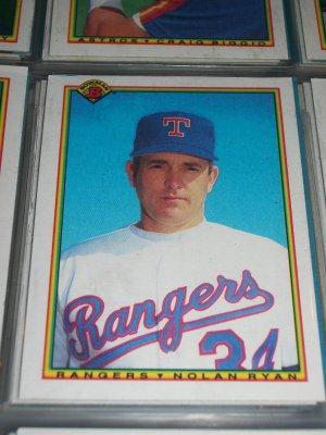 Nolan Ryan 1990 Bowman Baseball Card