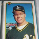 Mark McGwire 1990 Bowman Baseball Card