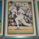 Eddie Murray 1990 Bowman Baseball Card