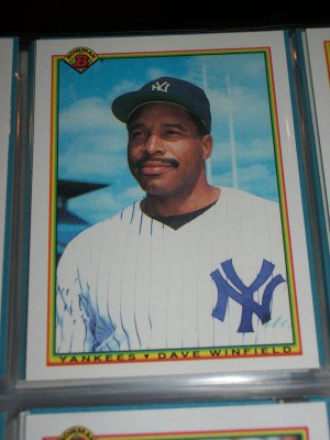 Dave Winfield 1990 Bowman Baseball Card