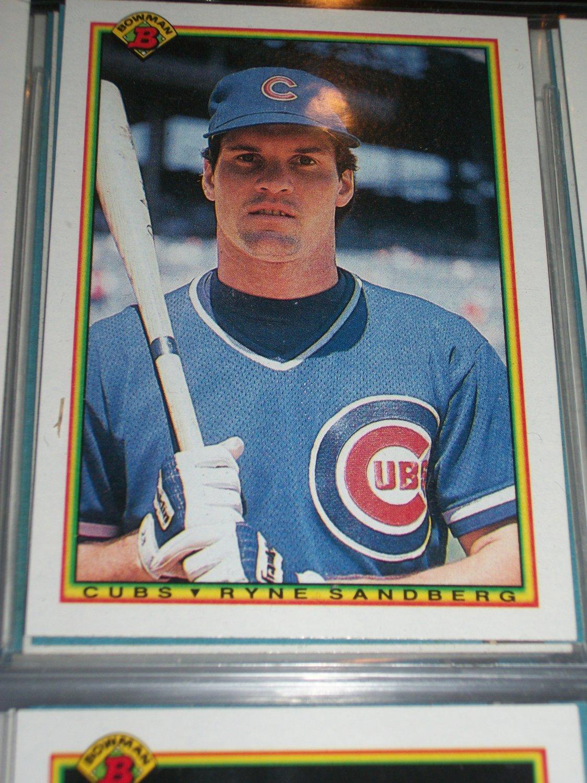 How To Figure Out Sales Tax >> Ryne Sandberg 1990 Bowman Baseball Card