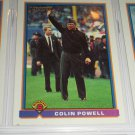 RARE 1991 Bowman Colin Powell-4 Star General insert baseball card