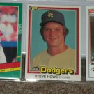 Steve Howe 1981 Donruss Baseball Card