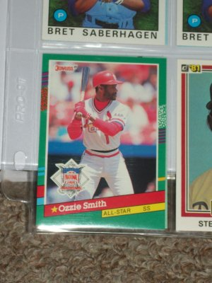 Ozzie Smith 1991 Donruss N.L. All-Star baseball card