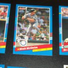 Mark McGwire 1991 Donruss A.L All-Star baseball card