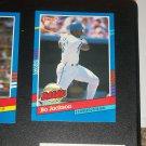 "Bo Jackson 1991 Donruss ""Highlights""- 4 Consecutive Home Runs baseball card"