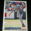 Brett Saberhagan 1995 Upper Deck Collectors Choice Baseball Card