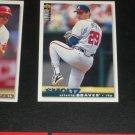 John Smoltz 1995 Upper Deck Collectors Choice Baseball Card