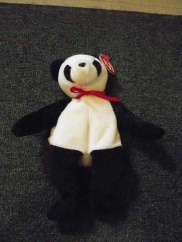"""1997 Beenie Baby """"Jake the Panda Bear"""""""