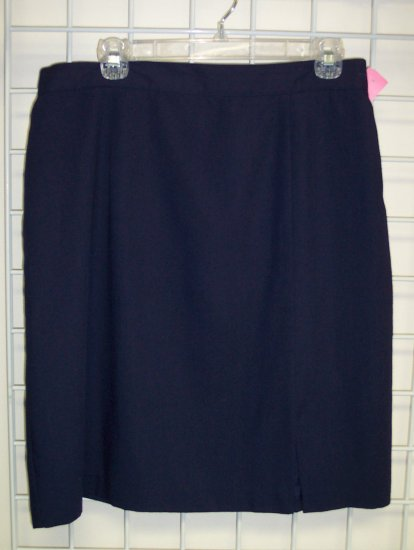 Beautiful Navy Sag Harbor Pencil Skirt Size 16 Once Is Never Enough