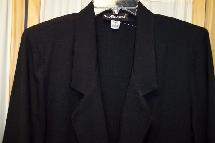 Sag Harbor Blazer Jacket Size 8 102-34 Once Is Never Enough