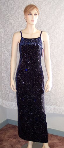 Jump Sparkly Party Prom Formal Dress Gown Size 7-8 118-384hgown