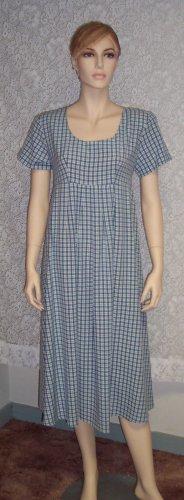 Vintage DBY Ltd Peasant Empire Waist  Romantic Church Dress Size 7 154-127h