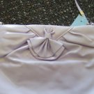 Vintage Clutch Purse Handbag Lilac Classic 60s 70s locationa1