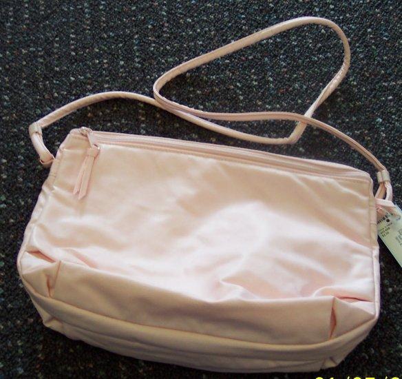 Vintage Sarne' Purse Clutch Handbag Light Pink locationa1