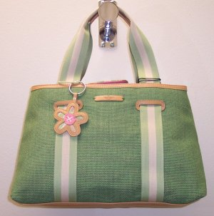 Dockers For Women Handbag Purse Green Spring Bag 109-572 Retired Discontinued Ladies Tote location84