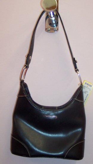 Nine and Company Small Black Handbag Purse 101-28 Vintage Purses location131