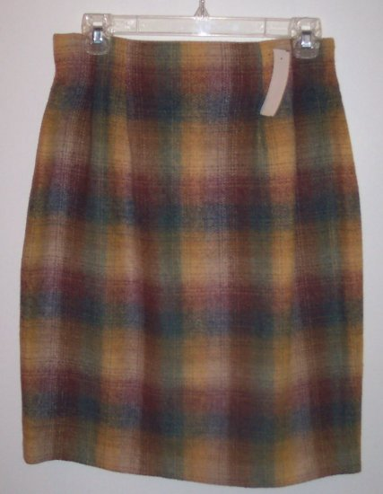 Requirements Pencil Wool Career Skirt Size 8 101-974 locw21