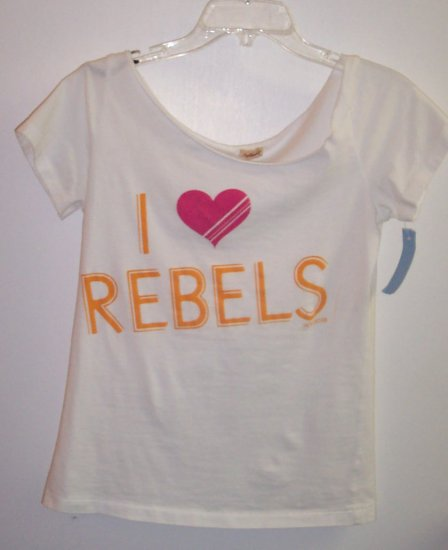 Hollister I Love Rebels T Shirt Top Size S 101-10shirt locationw10 vintage t shirt