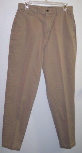 Dockers Casual Slacks Pants Khakis Size 12 Long 141-472  Once Is Never Enough