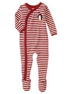 NWT Gymboree Penguin Parade Onepiece One Piece Sleeper PJs Size 18 - 24 Months box11