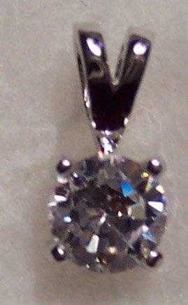 New Swarovski Crystal Non Tarnishing Silver Rhodium Pendant Drop 621-32 locationD1