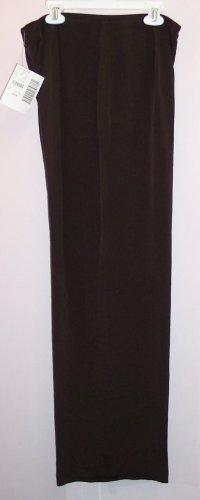 NWT Casual Corner Brown Silk Dress Pants Size 8 686-80