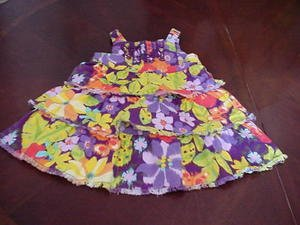 The Children's Place Tiered Jumper Dress Size 12 Months Infant Girls Clothing box11