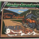 Harley Davidson Motorcycles North East to New England Collectors Touring Patch Patches 101-2664