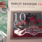 Harley Davidson Motorcycles Touring 10 Cent Bar and Shield Logo Collectors Patch Patches 101-2668