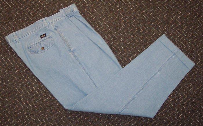 Dockers Khakis Denim Like Mens Cuffed Pants Waist 38 Inseam 32 101-h10 locw19