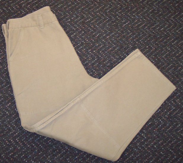 Sideout Mens Men's Khaki Pants Casual Slacks Waist 38 Inseam 31 101-h05 locw19
