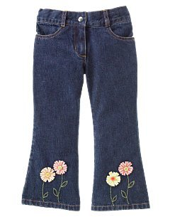 Gymboree NWT Freshed Picked Adjustable Waist Jeans Size 9 101-4112 location8