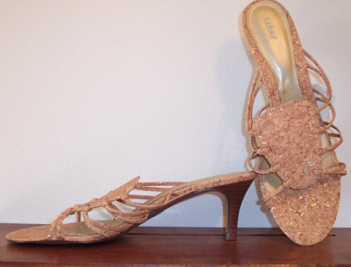 Awesome Summer Fioni Slides Mules Sandals Shoes Size 8 101-4133 loc38