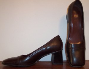 Ninewest Nine West Brown Pumps Shoes Size 8 SH-3 location85