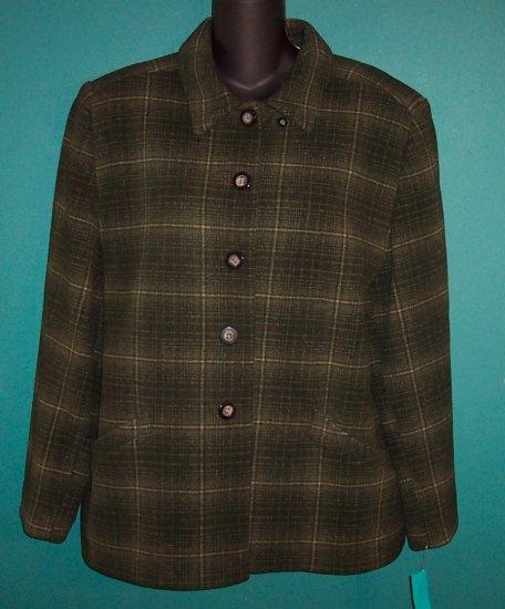 Field Gear FG Petite Blazer Jacket Size L P 101-16hjacket