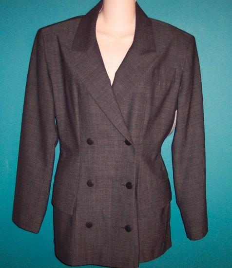 Vintage Plein Sud Charcoal Jacket Blazer 10 404-31