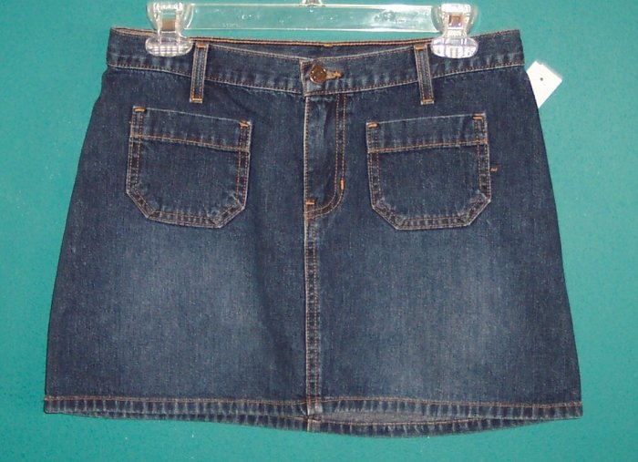 NWOT Abercrombie & Fitch Denim Mini Skirt 4 101-4015 location9