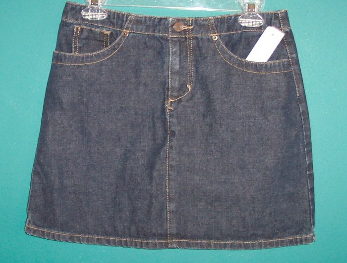 American Eagle Outfitters Denim Mini Skirt Size 4 141-402 loc9