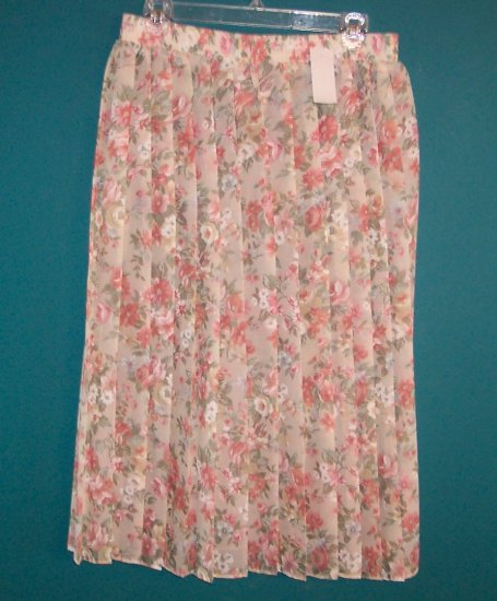Vintage Hippie Kate Allen Petites Skirt ~ A Leslie Fay Co. ~ Large Petite LP 154-343 box9
