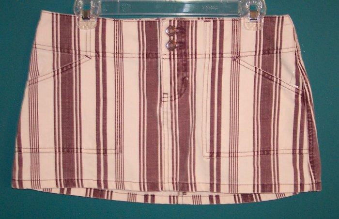 Vintage Abercrombie and Fitch Micro Mini Micromini Retro Denim Skirt 4 Small S 101-4017 locationw4